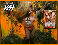 "THE GREAT KAT TV COMMERCIAL for ""BEETHOVEN'S GUITAR SHRED"" DVD - ""TOP 10 FASTEST SHREDDERS""! Featuring The Great Kat's ""THE FLIGHT OF THE BUMBLE-BEE""! ENERGIZE NOW!! https://youtu.be/A39ikZndYJY"