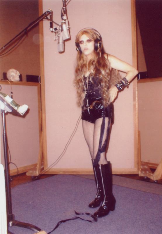 The Great Kat Metal Messiah RECORDING in STUDIO in NY!