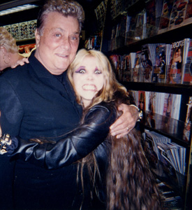 "THE GREAT KAT & GENIUS ACTOR TONY CURTIS (""Some Like It Hot"", ""Spartacus"", ""The Boston Strangler"") SHRED at CES in LAS VEGAS!"