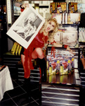 "THE GREAT KAT CYBERSPEED GODDESS at ""DIGITAL BEETHOVEN ON CYBERSPEED"" IN-STORE CD/CD-ROM SIGNING at J&R STORE in NYC!"