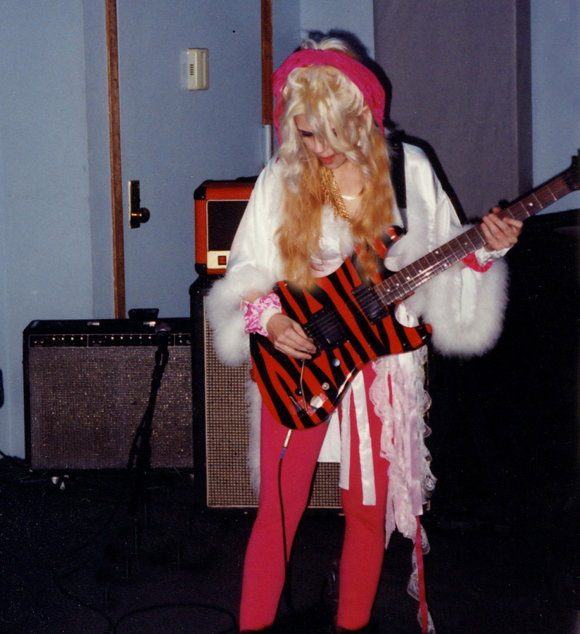 THE GREAT KAT PREPARING to SHRED LIVE in NYC!