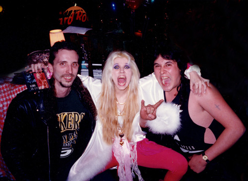 SLAVES WORSHIPPING THE GREAT KAT at the HARD ROCK in NYC!