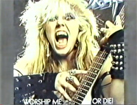"Morton Downey Jr.: ""Let me show you some objectionable albums. This is Kat."" (Worship Me Or Die!)! The Great Kat TOTALLY DOMINATES on The Morton Downey Jr. Show's famous Metal Episode!"