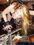 "THE GREAT KAT GUITAR SHREDDER at SPIN MAGAZINE INTERVIEW ""FASTER PUSSY KAT, KILL! KILL!! Meet the speediest, scariest female shredder of all time"" in NYC!"