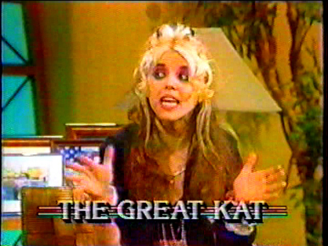 The Great Kat ENTERTAINS and GENIUSIZES on THE JOAN RIVERS TV SHOW!