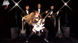 "ITUNES PREMIERES THE GREAT KAT'S NEW ""WILLIAM TELL OVERTURE"" MUSIC VIDEO (famous ""Lone Ranger"" Theme Song) from UPCOMING New Great Kat ShredClassical DVD! Starring THE GREAT KAT Shredding on Guitar And Violin with her ALL-MALE RHYTHM GUITAR SYMPHONY, With WILLIAM TELL (Legendary Virtuoso Marksman) & GESSLER (the Austrian Overlord)!"