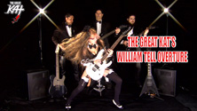 """ROUGH EDGE'S REVIEW OF THE GREAT KAT'S NEW """"WILLIAM TELL OVERTURE"""" MUSIC VIDEO! """"The Great Kat, one of the fastest guitarists (if not the fastest) in the world, with her blistering version of the William Tell Overture. It's well worth the download just to watch her play, her fingers flying across the frets in a blur, every note clear and sharp. Maximum flash and speed. The Great Kat is an artist who continues to impress."""" - R. Scott Bolton, Rough Edge"""