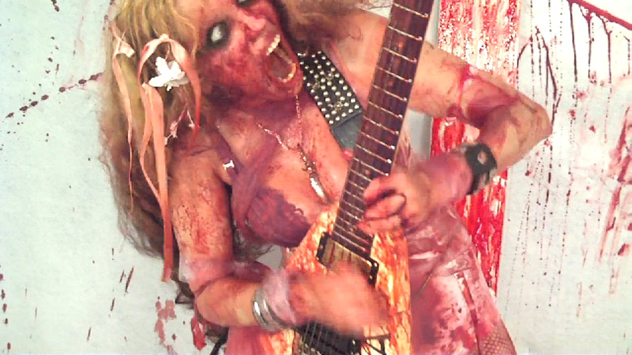 """The Great Kat's """"BLOOD"""" MUSIC VIDEO!"""