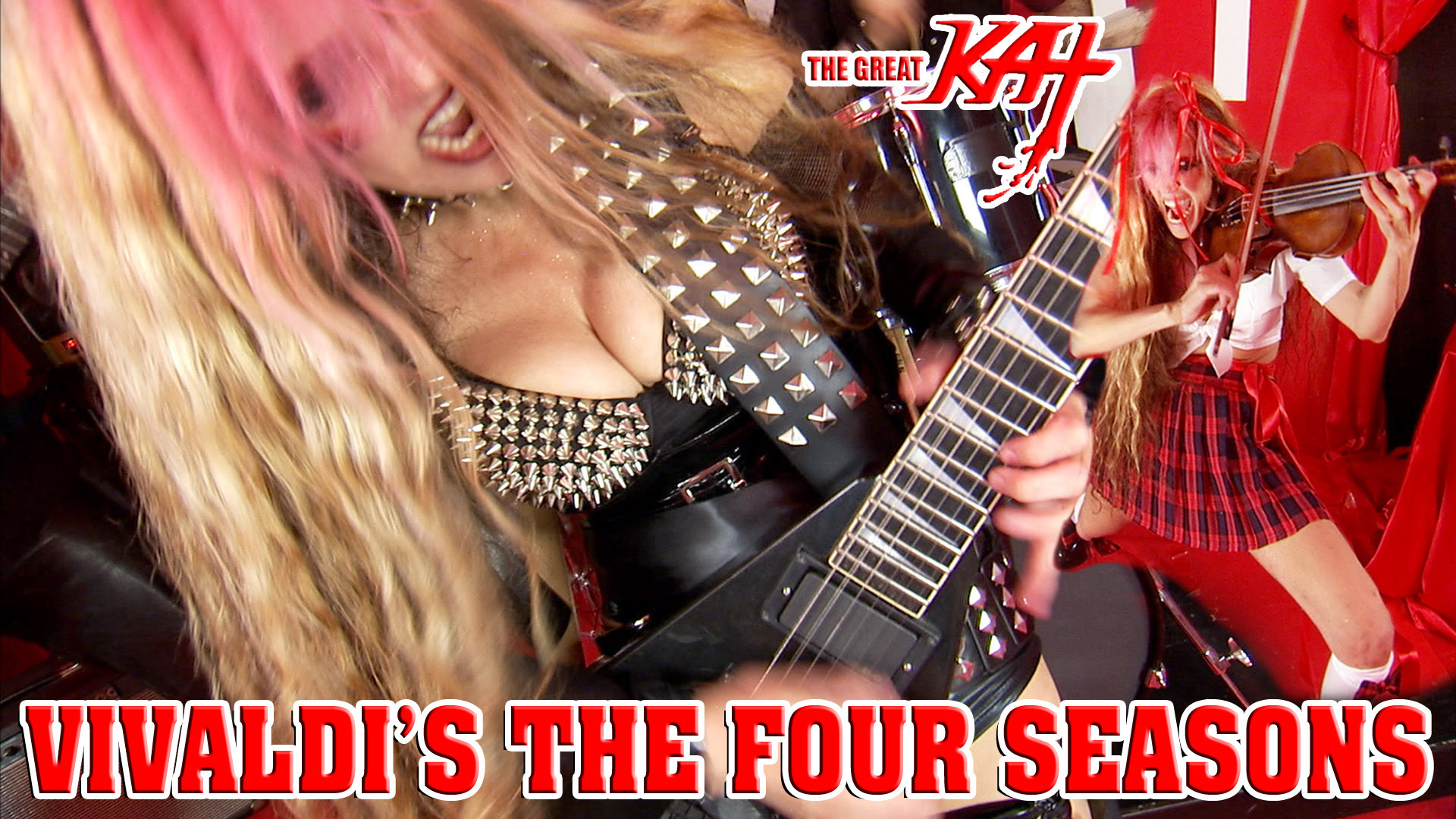 "THE GREAT KAT'S VIVALDI'S ""THE FOUR SEASONS""!"
