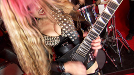 "NEW ON YOUTUBE!! VIVALDI'S ""THE FOUR SEASONS"" MUSIC VIDEO – The Great Kat Guitar Goddess SHREDS VIVALDI on NEW Music Video at http://youtu.be/bK9q2e4zmM4"