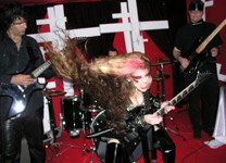 """COMING SOON TO ITUNES: THE GREAT KAT'S NEW VIVALDI'S """"THE FOUR SEASONS"""" MUSIC VIDEO! CLASSICAL VIOLIN MEETS SHRED GUITAR VIRTUOSITY! STAY TUNED!"""