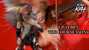 The Great Kat Guitar Goddess SHREDS VIVALDI on Guitar AND Violin! NEW Music Video at http://youtu.be/R_hn7HKHbDs &  https://itunes.apple.com/us/music-video/vivaldis-the-four-seasons/id573040803