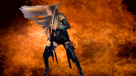 "MUSIC VIDEO PHOTOS of THE GREAT KAT'S VIVALDI'S ""THE FOUR SEASONS""!"