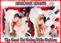 BAROQUE BABES! The Great Kat Guitar-Violin Goddess