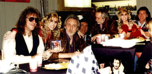 "JOHN ENTWISTLE, Bassist & guys from ""THE WHO"" BAND  WORSHIP THE GREAT KAT GUITAR GODDESS at ""DIGITAL BEETHOVEN ON CYBERSPEED"" IN-STORE CD/CD-ROM SIGNING at J&R STORE in NYC!"