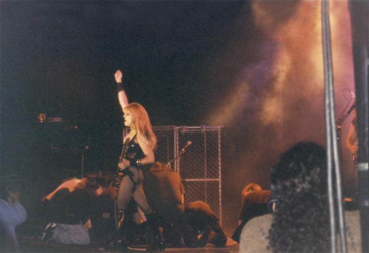 SLAVES WORSHIPPING The Great Kat Guitar Goddess LIVE IN CHICAGO!