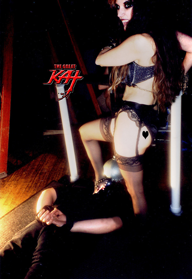 HOT SADISTIC SHRED GODDESS GREAT KAT!