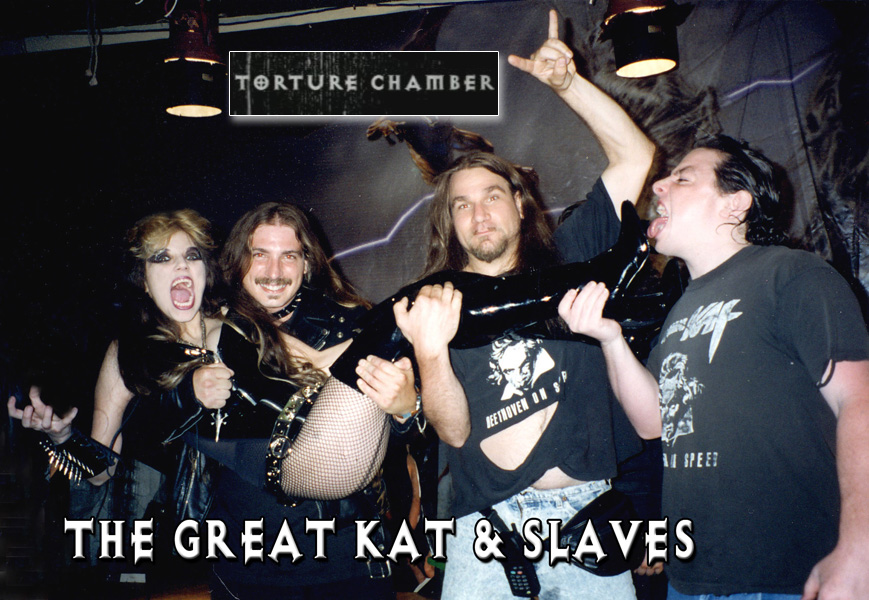 """FILM WRAP PARTY for THE GREAT KAT & SLAVES at """"TORTURE CHAMBER"""" Music Video Filming!"""