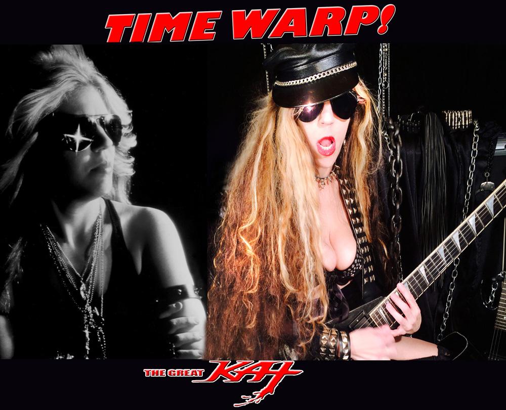 """TIME WARP!! """"WORSHIP ME OR DIE!"""" ERA & TODAY (4/7/15): MISTRESS OF METAL!"""