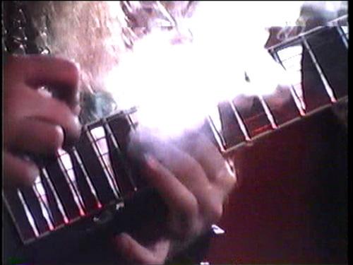 """METAL MESSIAH"" MUSIC VIDEO'S SMOKIN' GUITAR SHREDDING!"