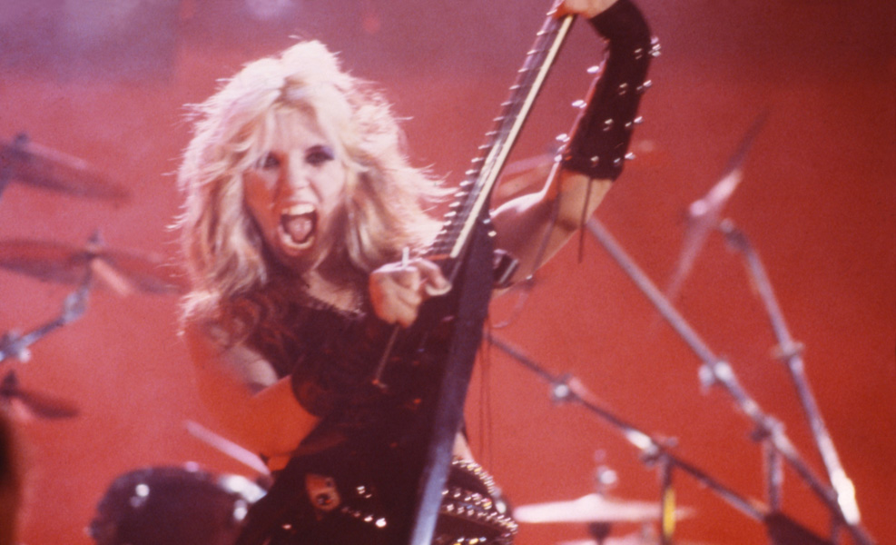 """""""METAL! METAL! METAL MESSIAH!"""" """"Metal Messiah"""" Music Video's KAT PHOTO from the """"WORSHIP ME OR DIE!"""" ERA!"""