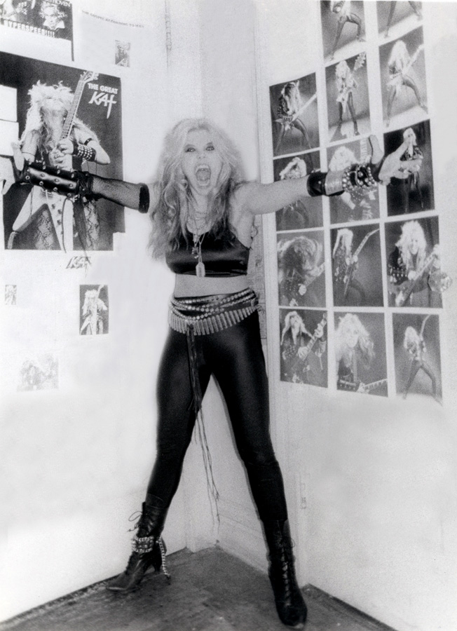 """WORSHIP ME OR DIE!"" ERA'S GREAT KAT WALL OF METAL!"