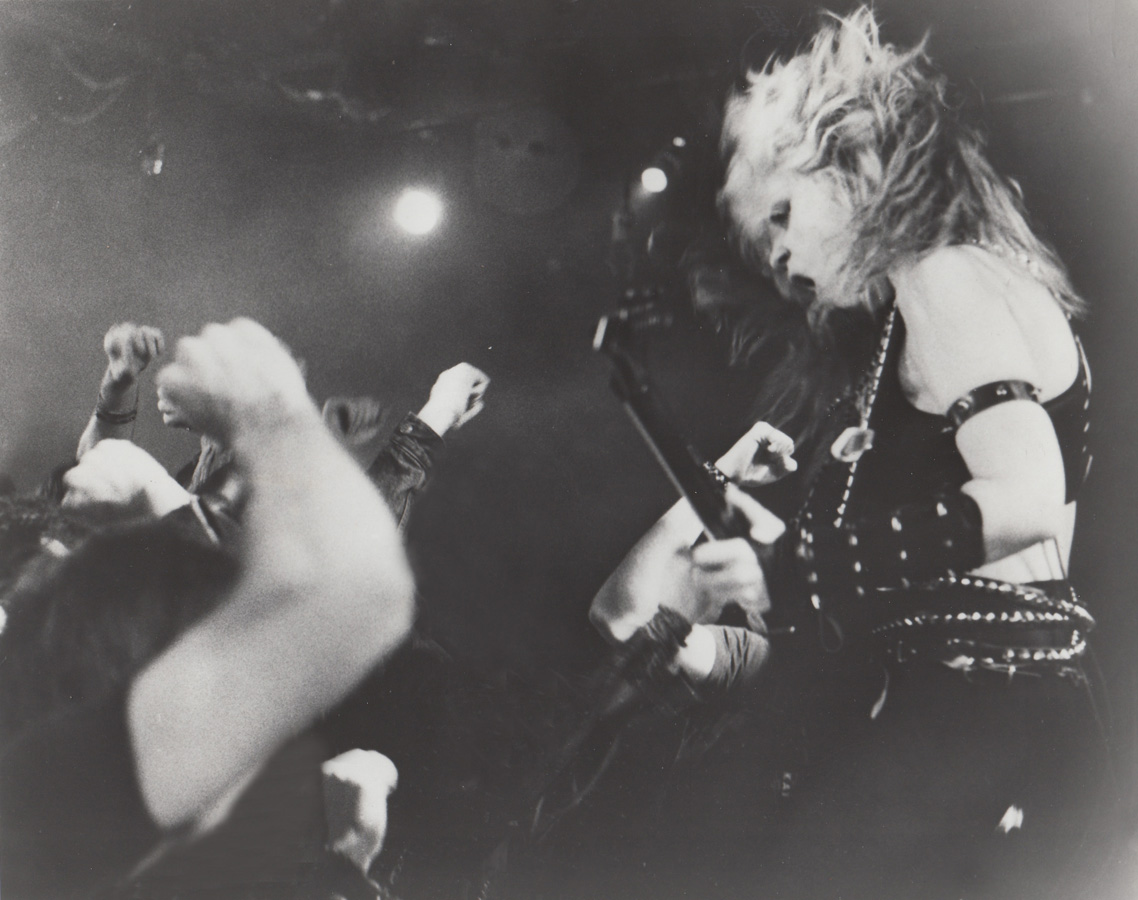 "METAL HISTORY!!!  HEADBANGING MANIACS led by THE GREAT KAT on ""METAL MESSIAH"" MUSIC VIDEO from ""WORSHIP ME OR DIE!"" ERA!"