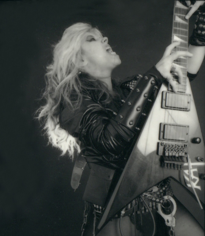 """RARE METAL HISTORY!!! METAL ICON THE GREAT KAT THRASHES """"WORSHIP ME OR DIE!""""!"""