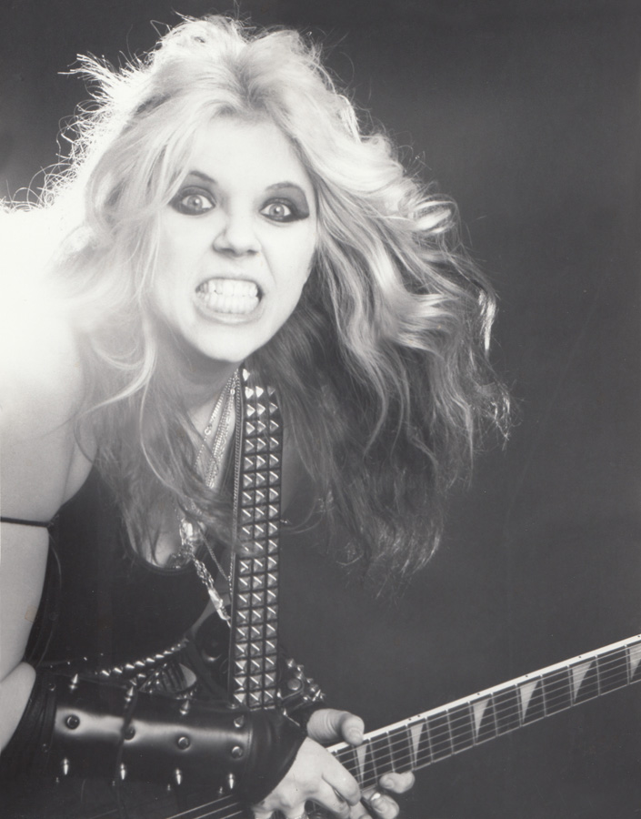 """METAL HISTORY!!! ALL HAIL the QUEEN of METAL! THE GREAT KAT! from """"WORSHIP ME OR DIE!"""" ERA!"""
