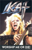 "The Great Kat's GROUNDBREAKING, THRASHING MASTERPIECE ""WORSHIP ME OR DIE!"" on CASSETTE!"