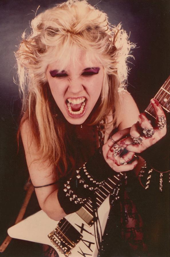 """RARE METAL HISTORY!!! """"WORSHIP ME OR DIE!"""" ERA's BLOODY FAST KAT FINGERS!"""