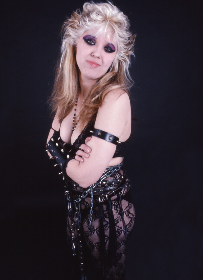 """RARE METAL HISTORY!!! ARE YOU A KAT SLAVE????!!!! BOW!!!! From The Great Kat's """"WORSHIP ME OR DIE!"""" Era!"""
