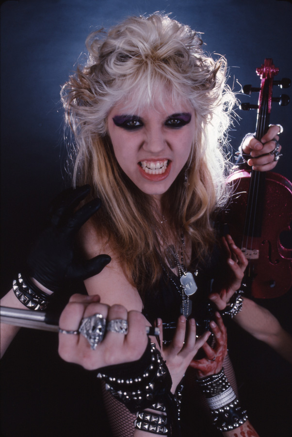 """RARE METAL HISTORY!!! """"WORSHIP ME OR DIE!"""" ERA'S THE GREAT KAT VIOLIN VIRTUOSO IS YOUR GOD! BOW!"""