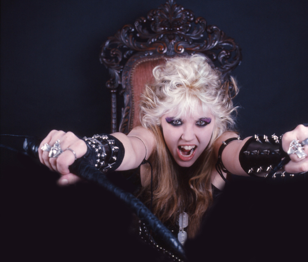 """RARE METAL HISTORY PHOTO!! """"Worship Me Or Die!"""" ERA'S THE GREAT KAT WANTS TO WHIP YOU, SLAVE!"""