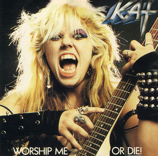 "THE GREAT KAT ""WORSHIP ME OR DIE!"" CD NOW AVAILABLE for DIGITAL DOWNLOADS/STREAMING!"