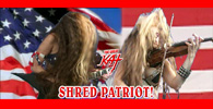 """THE GREAT KAT TV COMMERCIAL for SARASATE'S """"ZAPATEADO"""" - THE GREAT KAT IS THE WORLD'S ONLY VIRTUOSO GUITAR/VIOLIN SHRED PATRIOT!"""