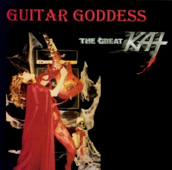 "The Great Kat's ""GUITAR GODDESS"" CD!"