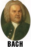 "HAPPY 328th BIRTHDAY J.S. BACH! (1685-1750) Born on March 21, 1685 in Eisenach, Germany. Johann Sebastian Bach is THE most brilliant BAROQUE COMPOSER in history. Bach wrote the genius unfinished masterpiece ""ART OF FUGUE"" in his last years, while SLOWLY GOING BLIND. Bach reportedly died mid-bar while writing the final fugue, having just composed a musical notation based on his name: B A C H."