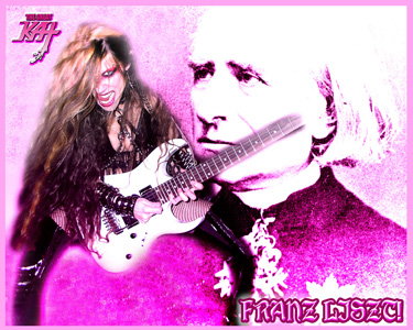 """FRANZ LISZT & THE GREAT KAT JOIN FORCES TO SHRED LISZT'S """"HUNGARIAN RHAPSODY #2"""""""