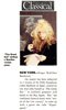 """NEW! CLASSICAL MAGAZINE FEATURES THE GREAT KAT IN """"'THE GREAT KAT' STRIKES A BEETHOVENIAN POSE""""! """"NEW YORK - Forget 'Roll Over Beethoven.' the master has been subjected to a version of his Fifth Symphony called Beethoven On Speed, created by one who bills herself as 'The Great Kat.' A Juilliard graduate still based in the Big Apple, 'Kat' has combined classical music with 'music of the 21st century' to come up with a genre she calls 'Hyperspeed.'"""""""