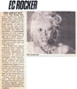 """EC Rocker Features The Great Kat! """"Only The Great Kat that lightning speed demon would have the guts enough to cover Beethoven on metal guitar. Lo and behold, on Beethoven On Speed, she offers a hyperspeed version of old Ludwig Van's Fifth Symphony. Blazing fast version of 'Flight of the Bumble-Bee'"""""""