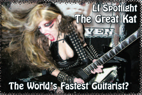 "The Great Kat on the Cover of ""GOOD TIMES"" MAGAZINE!"