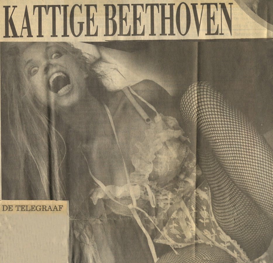 "DE TELEGRAAF (Netherlands) Interview with the Outrageous GUITAR ICON THE GREAT KAT ""KATTIGE BEETHOVEN (KATTY BEETHOVEN)""!!"