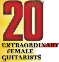 "GUITAR PLAYER MAGAZINE'S ""GUTS & GLITTER"" NAMES THE GREAT KAT ""20 EXTRAORDINARY FEMALE GUITARISTS""! ""THE GREAT KAT'S FEROCIOUS PASSION is unleashed in the service of a divine mission: zapping her ultra-virtuosic, 22nd-century shred classical concept into the synapses of what she calls the 'moron masses.' To accomplish this, the Juilliard-trained violinist and guitar shredder transforms classical masterworks into speed-metal songs, rages like a demented dominatrix, spews blood, bears arms, exposes her goodies, and indulges in both mental and dramatic castrations."" - Michael Molenda, Guitar Player Magazine's ""Guts & Glitter"" Edition"