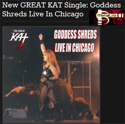 "Metal Life Magazine Features The Great Kat: ""New GREAT KAT Single: Goddess Shreds Live In Chicago"" http://metallife.com/new-great-kat-single-goddess-shreds-live-in-chicago/"