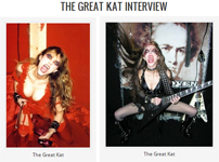 """MUSIC LEGENDS' INTERVIEW WITH THE GREAT KAT """"THE GREAT KAT INTERVIEW: KATHERINE THOMAS""""! Jason Saulnier, Music Legends"""