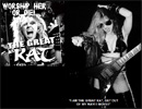 """SLAUGHTERAMA HEAVY METAL ZINE'S Interview with THE GREAT KAT """"WORSHIP HER OR DIE! THE GREAT KAT"""""""