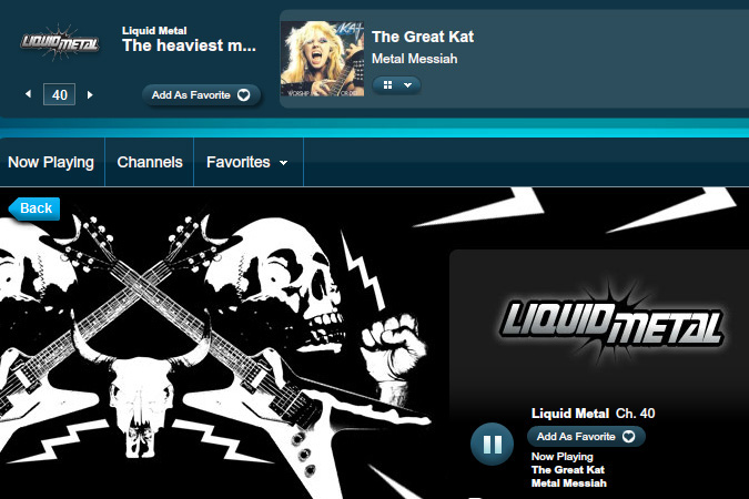 "SIRIUS XM SATELLITE RADIO'S LIQUID METAL Features THE GREAT KAT'S ""METAL MESSIAH"" on IAN CHRISTE'S ""9 YEARS OF METAL HISTORY"" on BLOODY ROOTS SHOW (7/3/12)! LISTEN NOW!"