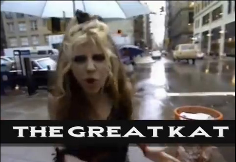 """""""THE GENRES OF METAL VOL. 1. SPEED METAL. THE GREAT KAT"""" VIDEO FEATURES THE GREAT KAT NYC INTERVIEW, """"METAL MESSIAH"""" VIDEO and """"BEETHOVEN MOSH"""" VIDEO (Great Kat Segment at 15:55 to 17:39)! """"The most brilliant, vicious music ever heard: HYPERSPEED!!!! The music of the 21st Century!"""" - The Great Kat"""