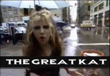 """THE GENRES OF METAL VOL. 1. SPEED METAL. THE GREAT KAT"" VIDEO FEATURES THE GREAT KAT NYC INTERVIEW, ""METAL MESSIAH"" VIDEO and ""BEETHOVEN MOSH"" VIDEO (Great Kat Segment at 15:55 to 17:39)! ""The most brilliant, vicious music ever heard: HYPERSPEED!!!! The music of the 21st Century!"" - The Great Kat"